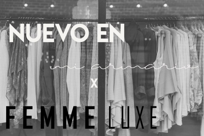 Nuevo en mi armario Femme Luxe