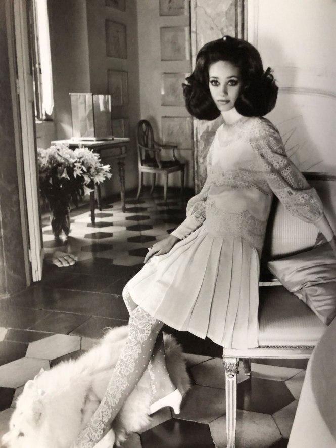 Vestido de Jacqueline Kennedy en su boda con Onassis