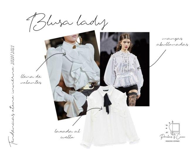 Tendencias: Blusas Lady