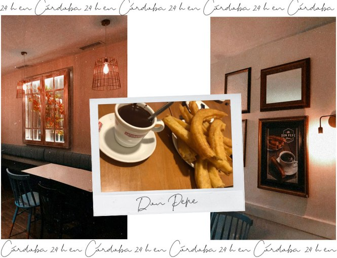 Don Pepe para comer churros con chocolate