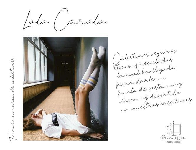 Lolo Carolo una marca de calcetines originales y ecológicos.