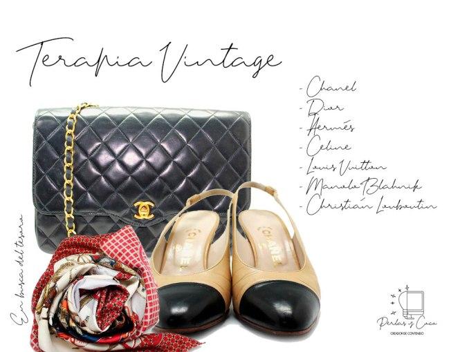 Terapia Vintage, encuentra el tesoro que siempre has querido en tu armario.