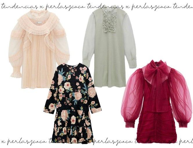 Vestidos Babydoll de Zara