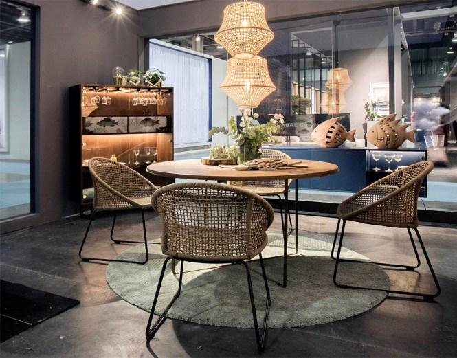 Mesa de estilo industrial Portobello Street