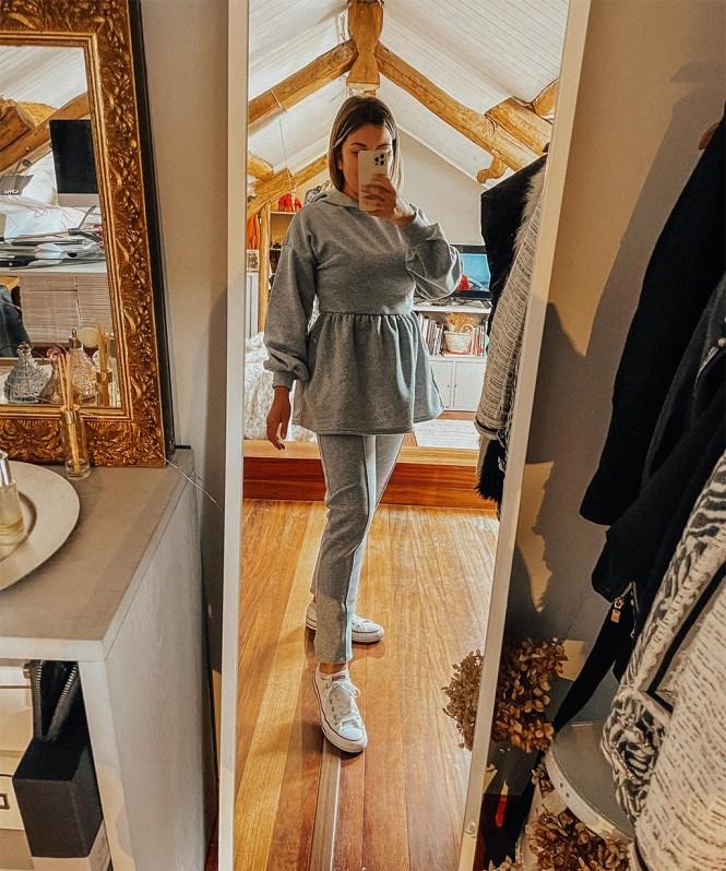 Grey Loungewear de Femme Luxe