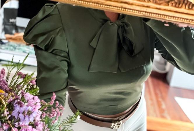 Blusa entretiempo Femme Luxe