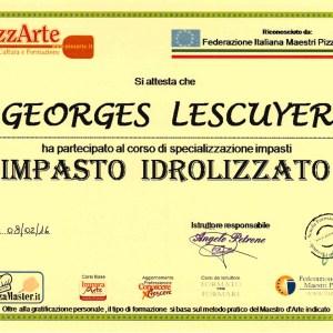 Spécialisation en pâtes hydrolysées - Georges Lescuyer