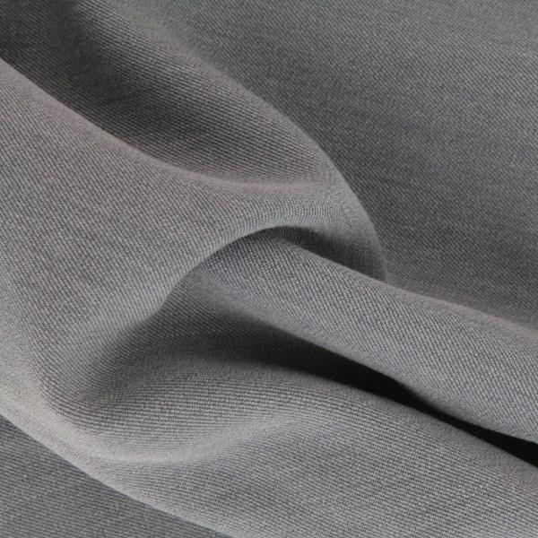 Gabardine Stretch Fabric - Light Grey X10cm Perles &