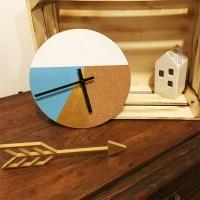 DIY Fabriquer une horloge murale graphique - Perles & Co
