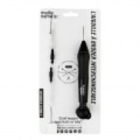 Punch Needle Aiguille à broder interchangeable - Outil de tissage/broderie magique