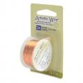 Fil de cuivre Artistic Wire 0,41 mm col Naturel x13,7m