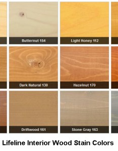 Lifeline interior wood stain colors also rh permachink