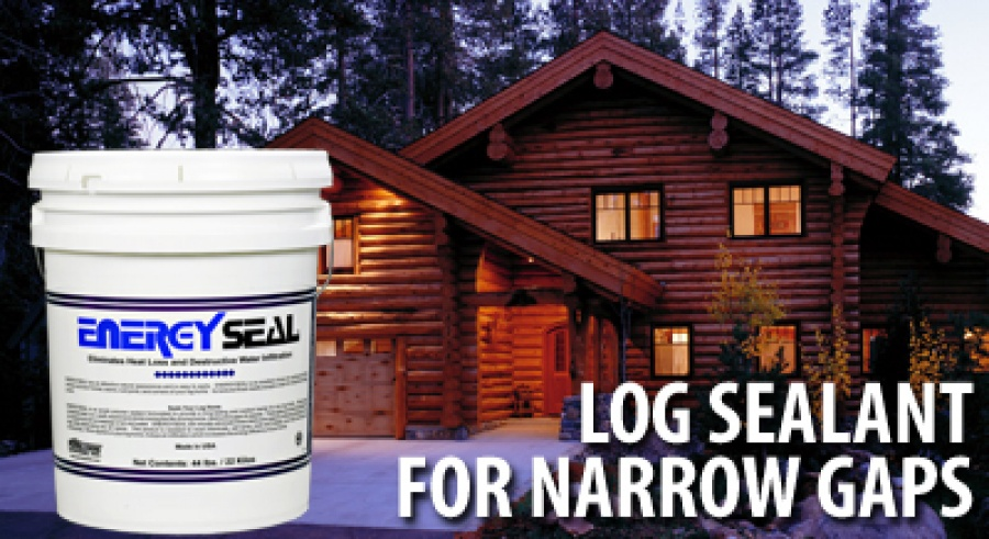 Energy Seal Log Sealant Specialty Sealant For Log Homes