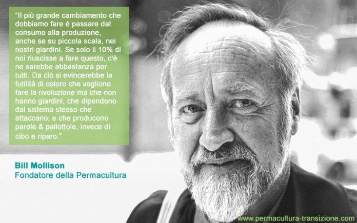 Permacultura Bill Mollison movimeento globale
