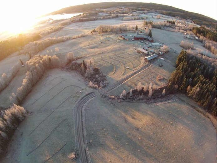Ridgedale Permaculture in inverno