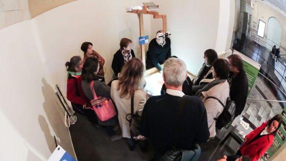 Foto de grupo en la expo
