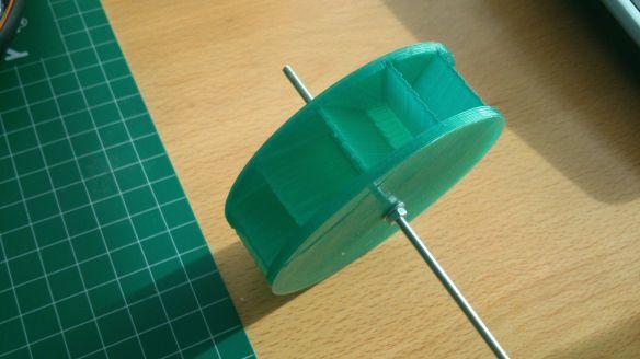 Turbina hidráulica impresa en 3D