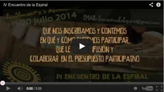 Video Proemocional del IV Encuentro de la Espiral - Sureste Ibérico en Transición - EcoSInuestra y Abundancia