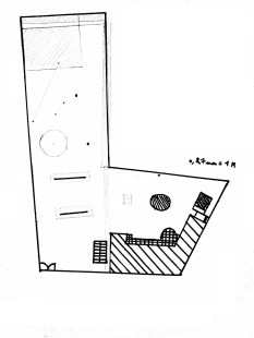 plan de cadastre d'un potager en permaculture