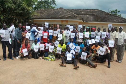 Sector39 PDC graduates in Adjumani 2018