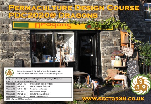 dragons, permaculture, PDC, sector39