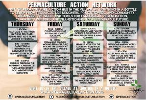 Permaculture Action - Schedule - 2