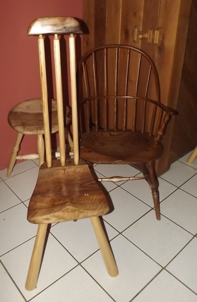 Steve Hanson windsor chairs