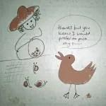 cartoon duck 003