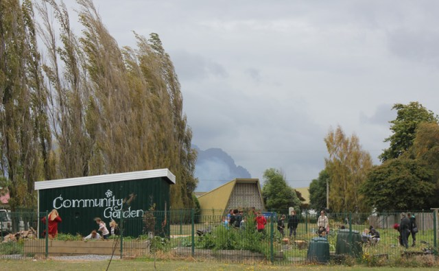 Community Garden Sheffield Tasmania Austrlaia