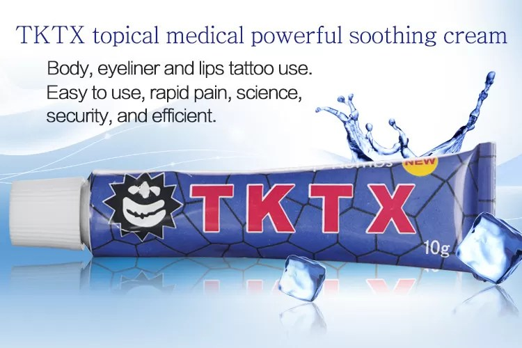Tktx Tattoo Numbing Cream