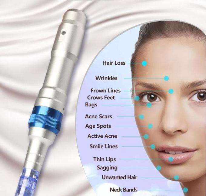 Wireless Derma Pen Powerful Ultima A6 Microneedle Dermapen Derma Stamp