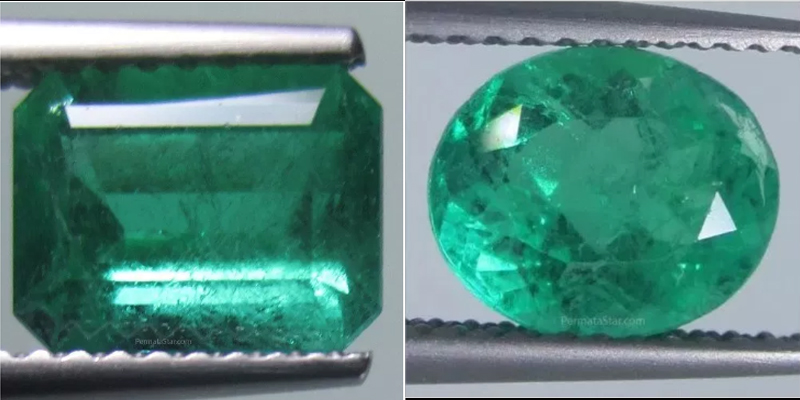 Jual batu emerald asli bersertifikat