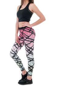 Γυναικείο κολάν γυμναστικής πολύχρωμο Lisyana