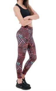 Αθλητικό γυναικείο κολάν πολύχρωμο Lisyana 93b791c08ba