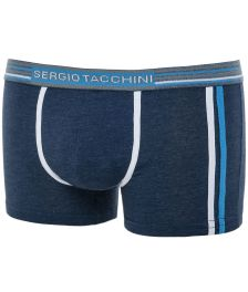 Sergio Tacchini ανδρικό βαμβακερό εσώρουχο μπόξερ μπλε