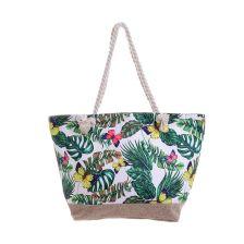 Υφασμάτινη τσάντα για την θάλασσα με σχέδιο πεταλούδες