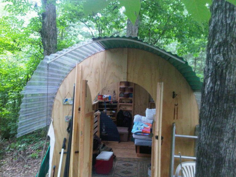 Semipermanent cabin building ideas natural building forum at permies
