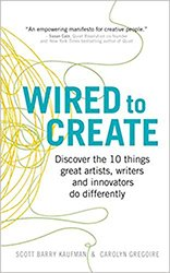 Wired to Create book by Kaufman and Gregoire