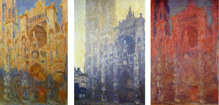 Claude Monet - 1894 -Rouen-go katedrala