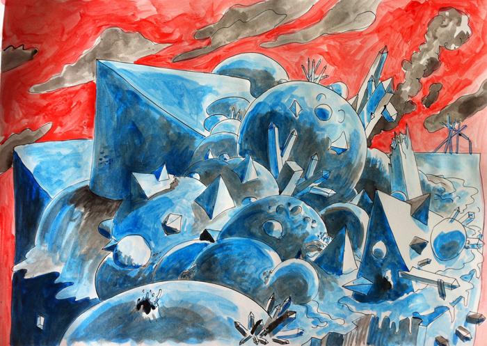 Bolas-piramides-azul-rojo-700