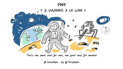 Y SI Turiskopio _1969 La luna