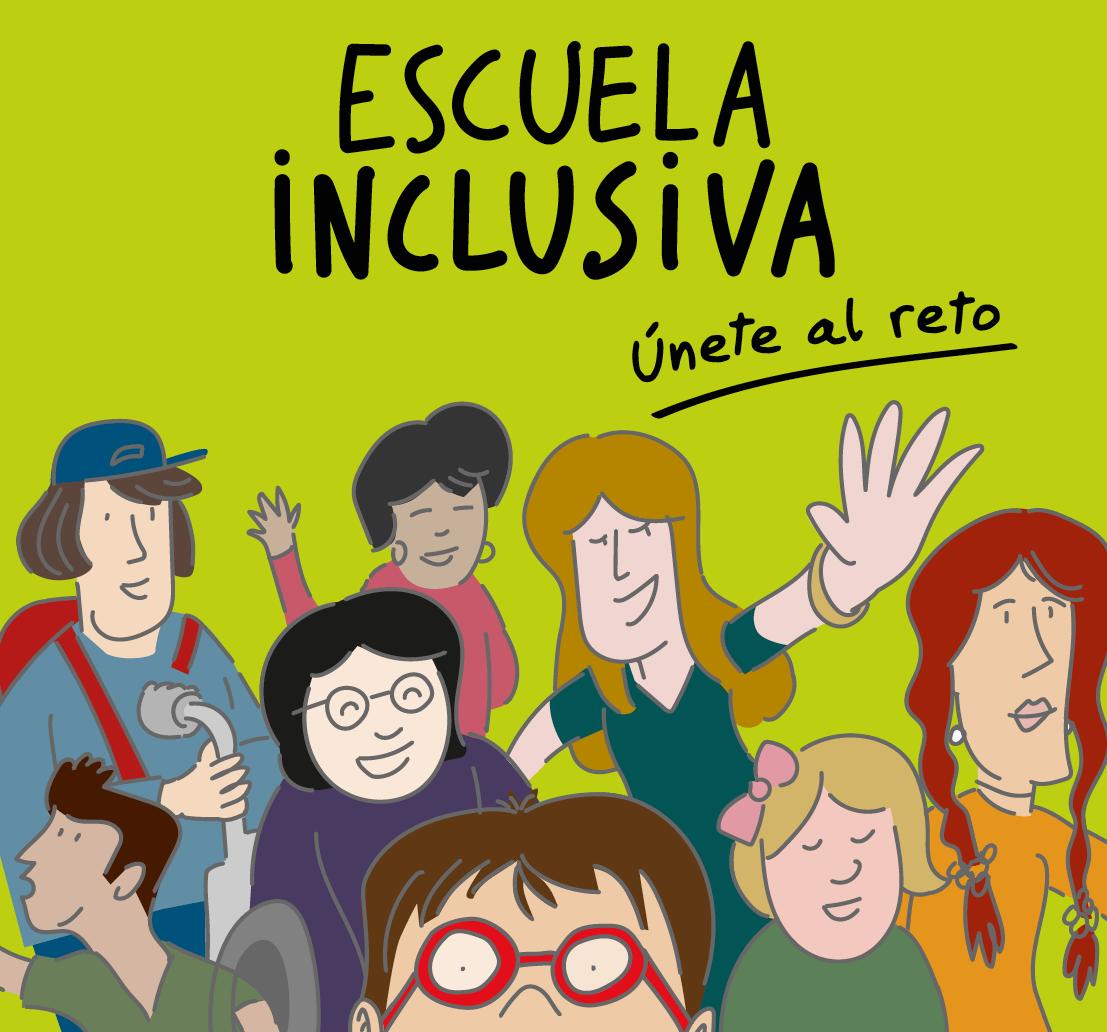 Ilustraciones para guía de Escuela Inclusiva