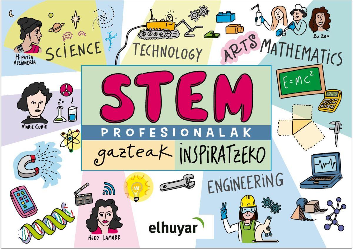 STEM profesioak gazteak inspiratzeko liburuxka
