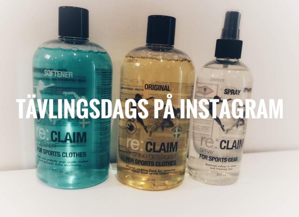 Tävlingsdags - Tillsammans med re:CLAIM!