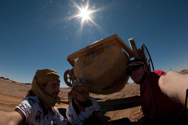 Rowerem przez pustynię Nubijską w Sudanie