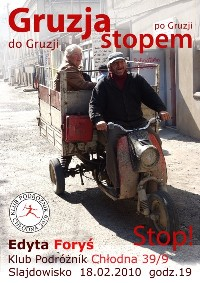 Plakat Gruzja