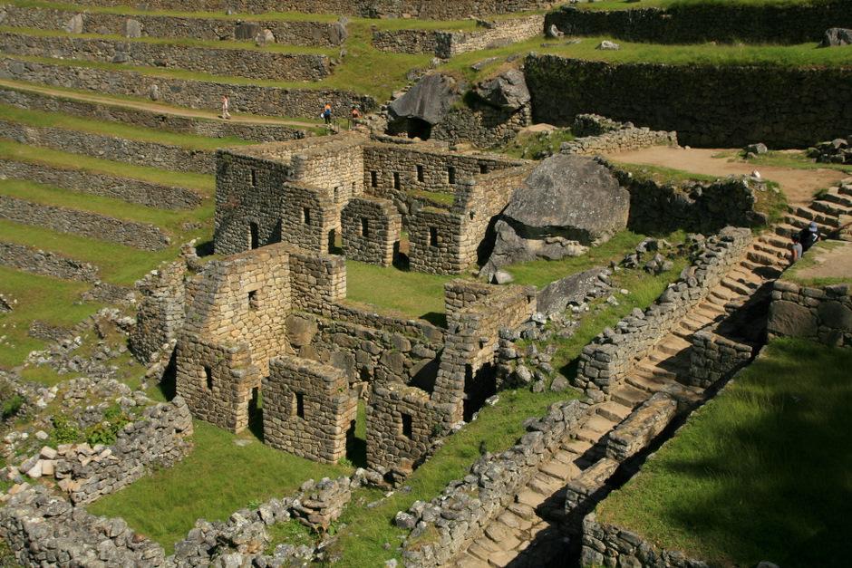 Więzienia Machu Picchu. (Fot. Kuba Fedorowicz)