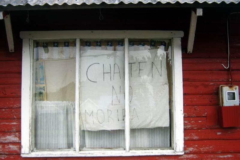 Chaitén nie umrze. (Fot. Łukasz Obuchowicz)