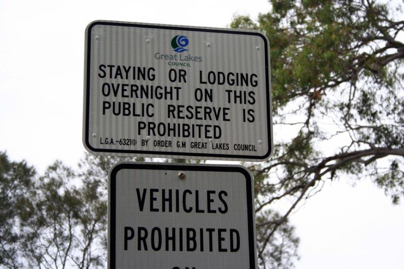 Prohibited, Australia