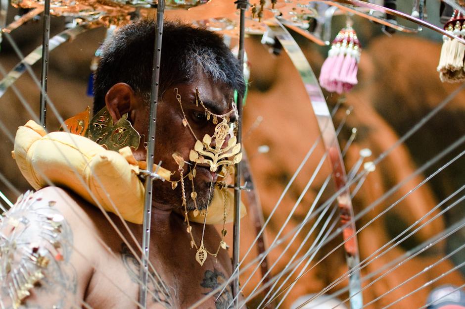 3. Jaskinie Batu, Malezja. Święto Thaipusam odbywa się zawsze w dziesiątym miesiącu kalendarza hinduskiego. (Fot. Marcin Czajka)